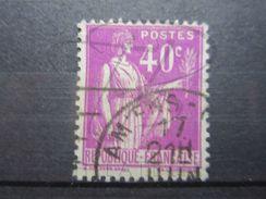 """VEND BEAU TIMBRE DE FRANCE N° 281 , OBLITERATION """" AMIENS """" !!!! - 1932-39 Peace"""