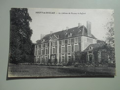 ORNE NEUVY AU HOULME LE CHATEAU DE FRESNAY LE BUFFARD - France