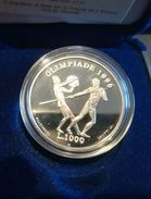SAN MARINO - NUMISMATICA - 1995 - 1.000 £ - XXVI Olimpiade Atlanta FS - Tiratura 50.000 - Saint-Marin