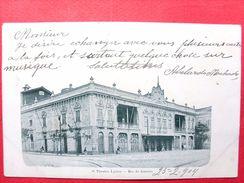 Brésil ,rio De Janeiro ,o Theatro Lyrico  En 1904......timbres Et Cachets - Rio De Janeiro