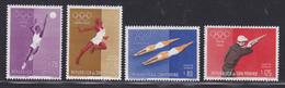 SAINT-MARIN AERIENS N°  121 à 124 ** MNH Neufs Sans Charnière, Sports, TB  (D0846) - Poste Aérienne