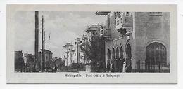 "Heliopolis - Post Office & Telegraph - ""Book Mark"" Card - Cairo"