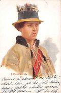 """¤¤   -  RUSSIE  -  Illustrateur """" J. MAKAYCWICZ """" En 1899  -  Oblitération   -  ¤¤ - Russie"""