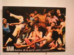 """Paris - Théatre De La Porte St Martin - Comédie Musicale """"Hair"""" - Comédiens - France"""