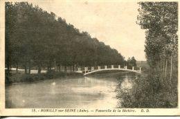 N°59472 -cpa Romilly Sur Seine -passerelle De La Béchère- - Romilly-sur-Seine