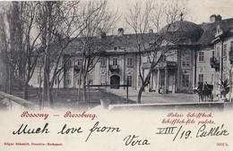 Bratislava - 1899 , Palac  Schiffbeck , Lekarska Fakulta UK - Slovaquie