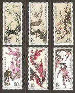 6 Timbres De 1985 ( Chine )( Neufs** ) - 1949 - ... People's Republic