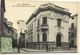 MONACO  Le Nouvel Hotel Des Postes + Timbre 5 Principauté - Monaco