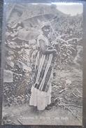 Cap Vert Costumes Femme  S.vincente Cabo Verde Cpa - Cape Verde