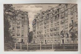 CPA PARIS 15° ARRONDISSEMENT - Square Desnouettes - Distretto: 15