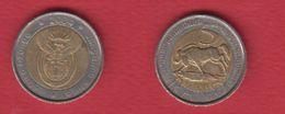 Afrique Du Sud  --  Km #  281  --  5 Rand 2004 -- état  TTB - Afrique Du Sud