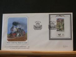 70/041   FDC  TRANSKEI - Trains