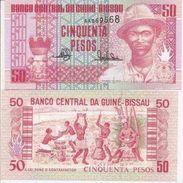 Guinea-Bissau P-10  50 Pesos 1990  UNC - Guinea-Bissau