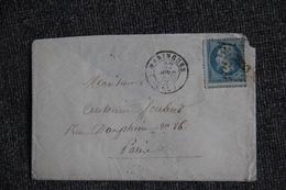 Lettre Envoyée De MARINGUES à MOULINS . - Postmark Collection (Covers)