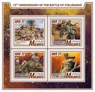 Maldives 2017 WWII 75th Anniversary Of The Battle Of Stalingrad - WW2