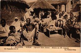 2 CPA    Health LEPRA   Lepreux  Leper   Leprosy  Melaatsen LEPROSERIE Abyssinie Harar Mission Redemptoristen - Santé