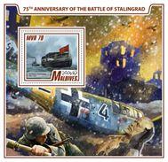 Maldives 2017 WWII 75th Anniversary Of The Stalingrad - Guerre Mondiale (Seconde)