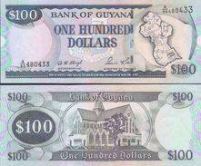Guyana P-31  100 Dollars 1999 UNC - Guyana