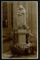 RB 1178 -  Judges Real Photo Postcard - Statue Of Our Lady St Stephen's Church Bournemouth Hampshire Dorset - Bournemouth (until 1972)