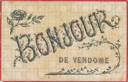VENDOME - BONJOUR DE VENDOME (AVEC PAILLETTES) - Vendome