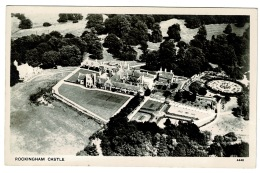 RB 1178 -  Aerial Real Photo Postcard - Rockingham Castle Near Corby - Northamptonshire - Northamptonshire