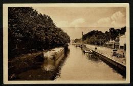 RB 1178 -  1931 Raphael Tuck Postcard - Lille France - Les Bords De La Deule - Canal Boats - France