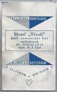 Suikerwikkel.- Embalage De Sucre. OUDENBOSCH. Hotel - TIVOLI - Café Restaurant Bar. Eign. A.J. Lips - Suiker