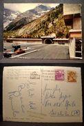 (FG.Q41) COURMAYEUR - TUNNEL DEL MONTE BIANCO - PIAZZALE, TRAFORO (VAL D'AOSTA) - VIAGGIATA - Aosta