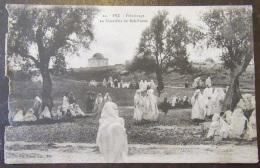 Maroc - Fez N°22 - Pèlerinage Au Cimetière De Bab-Ftouh - Circulée - Fez (Fès)