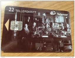 22u. Telenor - Telegrammer 1855  -   In  Used Condition - Norwegen