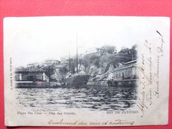 Brésil ,rio De Janeiro ,dique Sta Cruz ,ilha Das Cobras  En 1904......timbres Et Cachets - Rio De Janeiro