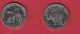 Erythrée --  Km # 48  --  100 Cents 1997 -- état  SUP - Erythrée