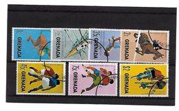 EDY 684 - GRENADA 1975 , Pan America Games  Sette Valori Usati - Grenada (1974-...)