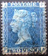 GRANDE BRETAGNE               N° 27      Planche 15                       OBLITERE - 1840-1901 (Viktoria)