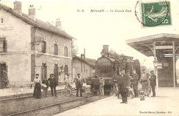 Cpa Airvault La Grande Gare - Airvault