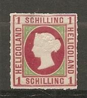 HELGOLAND - Yv. 2  *  1s  D 2 Scans - Heligoland