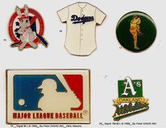 Baseball_Divers_Lot De 2 Pin's Au Choix  V-2 - Baseball