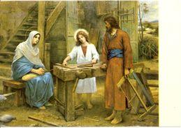 "Israël - Nazareth - La Sainte Famille - Copyright By ""Palphot"" - Nº 3091 - Imprimé Ne Terre Sainte -2816 - Israele"