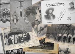 Lot N° 1025 De 10 CPA Cirque Circus Cirk Spectacle Déstockage Pour Revendeurs Ou Collectionneurs - 5 - 99 Postales
