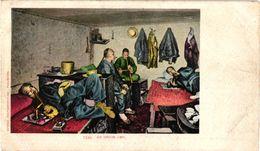 1 Postcard CHINA Chinese Addicts For OPIUM Opium Den    Fumerie D'OPIUM    Photographic Detroit   Nr 7339 Drugs - Santé
