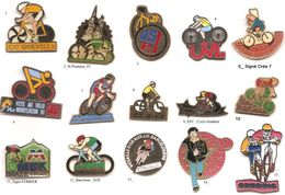 Cyclisme_Club De Vélo _ Divers _Lot 2 Pin's Aux Choix - Cycling