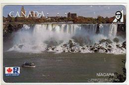 CANADA Télécarte Japonaise CHUTES Du NIAGARA - Canada