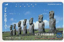 ILE DE PAQUES CHILI  TELECARTE JAPON - Chili