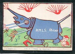 CPA - H.M.L.S. Crème De Menthe - FOIRE DE PARIS 1919 - Werbepostkarten
