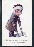 CPA - Illustration Wuyts - Ca Va Pas Mal... Et Vous ? - Guerre 1914-18