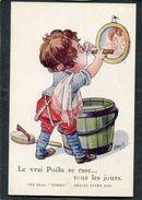 CPA - Illustration Wuyts - Le Vrai Poilu Se Rase... Tous Les Jours - Guerre 1914-18