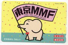 JAPON  TELECARTE ELEPHANT - Japon