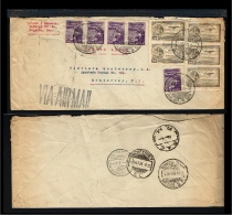 1933 - Mexico Cover - Transport - Airmail - From Mexico To Monterrey [B04_040] - Mexico