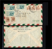 1962 - Mexico Flight Cover - Transport - Airmail - From Mexico To Northern Rhodesia [B04_072] - Mexico