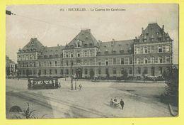 * Brussel - Bruxelles - Brussels * (nr 183) La Caserne Des Carabiniers, Armée Belge, Tram, Vicinal, Animée, Rare, TOP - Bruxelles-ville